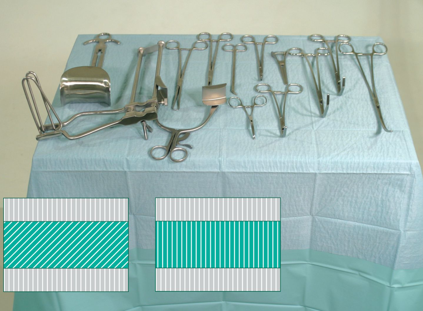 Surgical drapes & surface